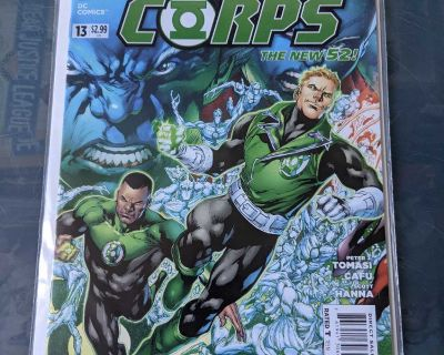 Green Lantern Corps #13 | December 2012 | DC Comics