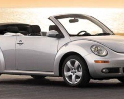 Pre-Owned 2007 Volkswagen New Beetle Convertible 2.5L FWD Convertible