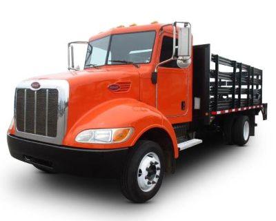 2014 PETERBILT 325 Flatbed Trucks Truck