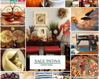 SAGE PATINA Hosts Lovely Vintage Decor & More in Saginaw Estate Sale!