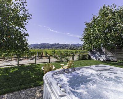 Lovely Healdsburg Vineyard Home - 3br/2ba (up to 8 guests, children welcome) - Healdsburg