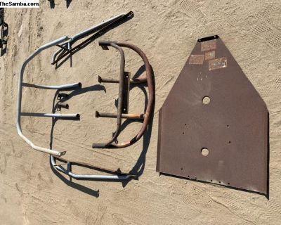 baja bumper/skid plate kit
