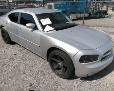 Salvage Silver 2010 Dodge Charger