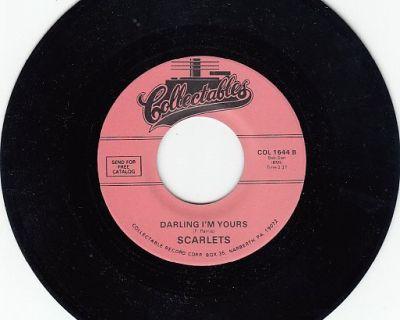 SCARLETS ~ Darling I'm Yours*Mint-45 !