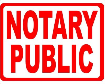 Mobile Notary East Valley