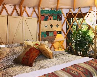 The YOGA YURTA (Special Civilized Monthly Rates) at SUNNY MELLOW ECO VILLA - Tijeras