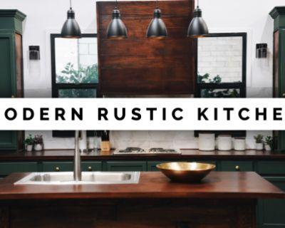 Beautiful Modern Rustic Kitchen