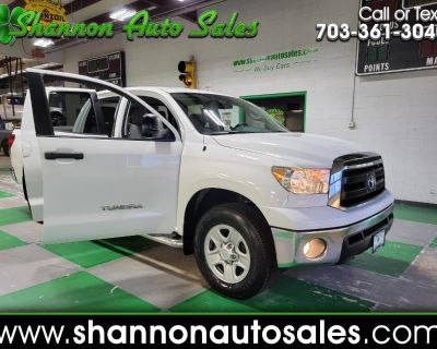 Used 2013 Toyota Tundra 4WD Truck Double Cab 4.6L V8 6-Spd AT (Natl)