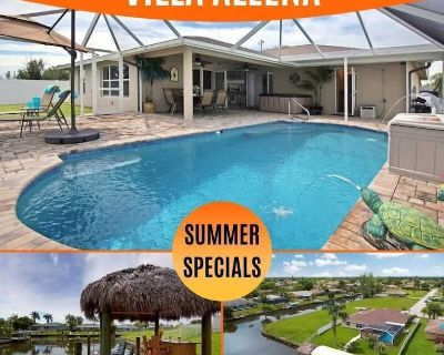 31% OFF! SWFL Rentals - Villa Aleena - Spacious Pool Home on Intersecting Canals - Cape Coral