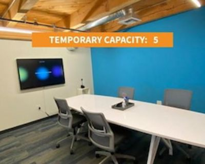 Private Meeting Room for 5 at Galvanize