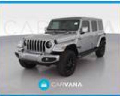 2021 Jeep Wrangler Silver, 12K miles