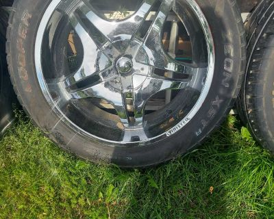 22 inch wheels with sinister rims
