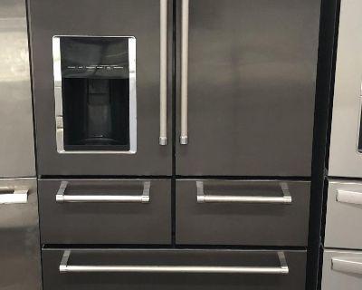 Kitchenaid 5 doors Black Stainless Steel