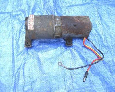 1966-71 Mopar A, B, E-body Convertible Power Top Lift Pump / Motor, Vgc Runs Gd