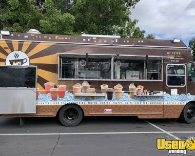 25' Commercial Mobile Kitchen Food Truck / Coffee and Beverage Truck
