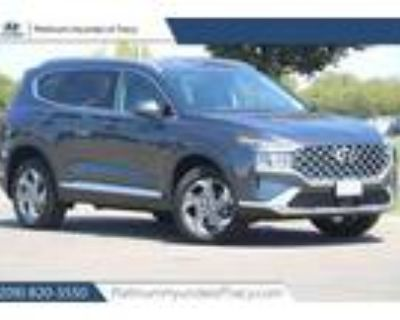 2022 Hyundai Santa Fe Gray, new