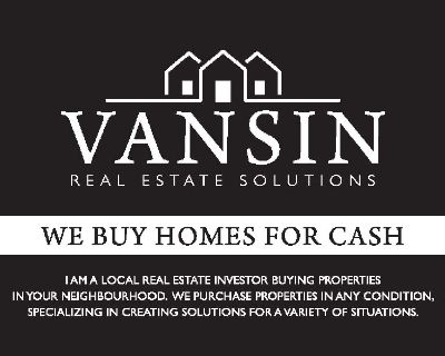 WE BUY HOMES FOR CASH!
