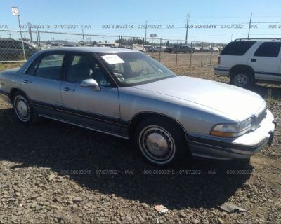 Salvage Blue 1996 Buick Lesabre