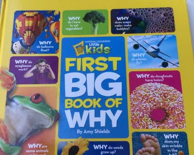 NEW! Little kids first big book of why? - NATIONAL GEOGRAPHIC