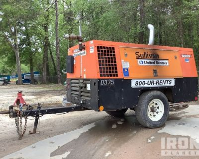 2014 (unverified) Sullivan-Palatek DF375PDJD Mobile Air Compressor