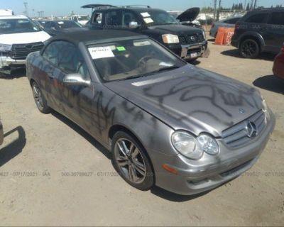 Salvage Silver 2006 Mercedes-benz Clk-class