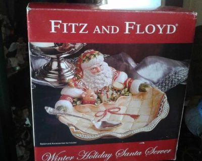 Fitzgerald and Floyd Santa server