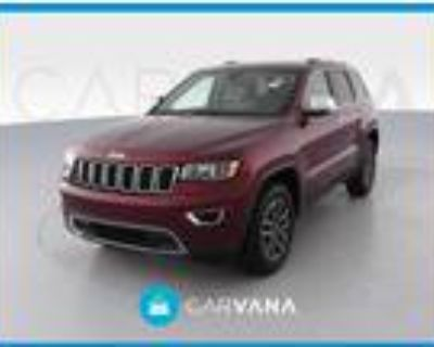 2019 Jeep grand cherokee Red, 14K miles