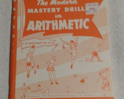 1975 - The Modern Mastery Drill in Arithmetic