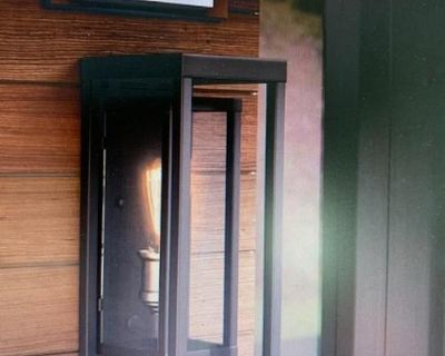 Outdoor house light brand new in box