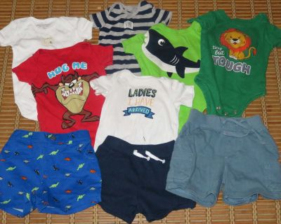 Lot of Baby Boy Clothes (3-6 month)