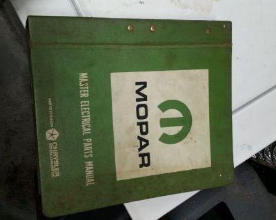 Chrysler Mopar Master Electrical Parts Manual