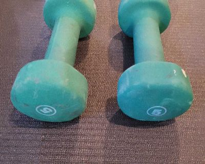 5 lbs dumbbells weights poids alt res
