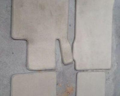 10-15 Oem Mercedes Benz Floor Mat Set Beige Tan W207 Coupe Convertible E350 E550