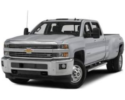 2015 Chevrolet Silverado 3500HD High Country Crew Cab Long Box 4WD DRW
