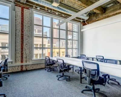 Team Office for 25 at TechSpace San Francisco, Union Square