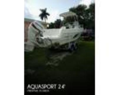 24 foot Aquasport explorer 245