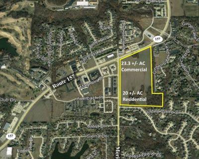 43.3 acres on Meridian Rd.