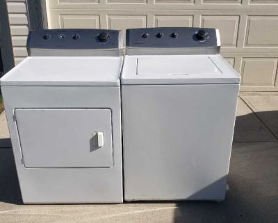Frigidaire Washer and Dryer