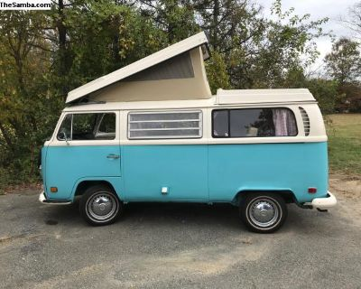 1971 Pop Top Westfalia Camper