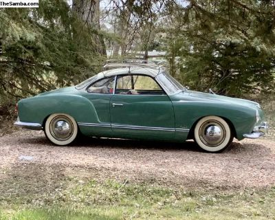 Driver Quality 1960 Ghia Coupe