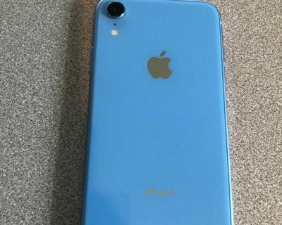 AT&T Apple iPhone XR 64 GB blue