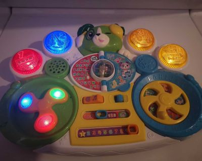 EUC LeapFrog Learn & Groove Mixmaster Scout