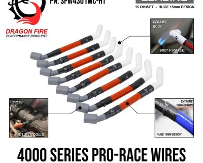 Pro-race spark plug wires - same series wire used in the winnig bst mustang @ ls fest