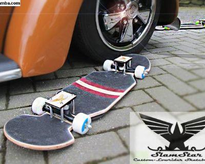 Custom, Low-Rider Boards by SlamStar, Slammed VW