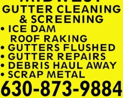 MIDWEST GUTTER CLEANING & SCRE...