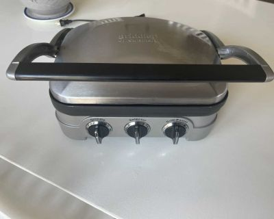 Cuisinart Griddler Grill, Griddle, & Panini Press