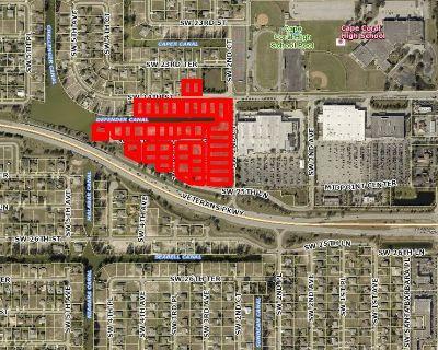 Cape Coral 15 acre Veterans Plaza Phase III site