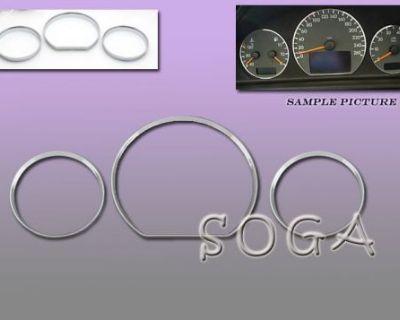 00 01 02 Benz W210 Dash Cluster Gauge Trim Rings E430 E320 2000 2001 2002