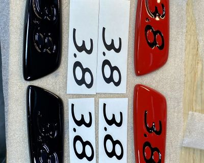 """Super Cool 997.2 GT3 Wing """"3.8"""" side inserts. Finished."""