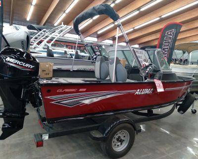 2021 Alumacraft CLASSIC 165 Aluminum Fish Boats Sterling, CO